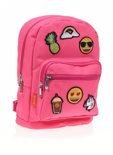 Emoji Okul Çantası Renkli